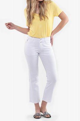 White Precious Jeans
