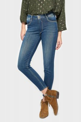 Pulp slim taille haute 7/8ème jeans bleu N°2