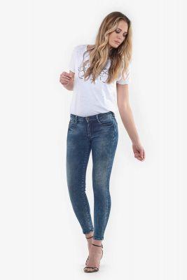 Ultra power skinny 7/8ème jeans bleu N°2