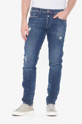 Aviso 600/17 adjusted jeans destroy bleu N°2