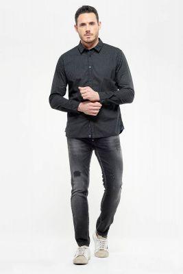 Jogg 700/11 slim jeans destroy noir N°1