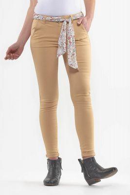 Pantalon Lidy Slim Beige