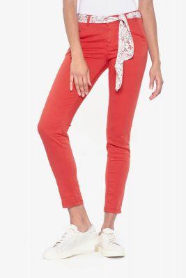 Pantalon Lidy Slim rouge