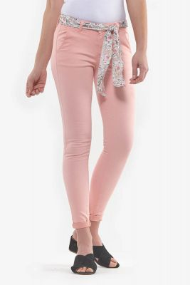 Pantalon Lidy Slim Pêche