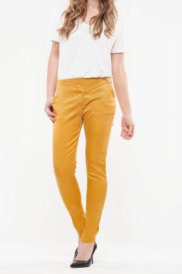 Pantalon Chino Slim You jaune