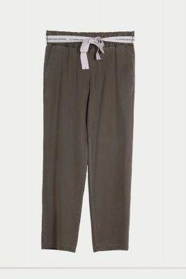 Pantalon droit Yonagi kaki