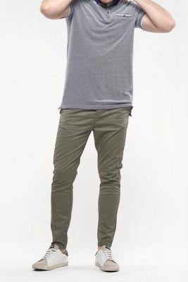 Pantalon Chino Slim Astor kaki