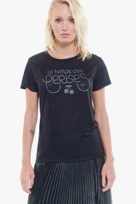 T-Shirt Georgina noir