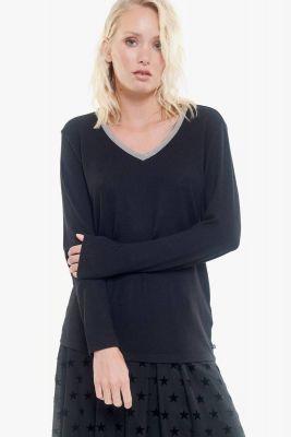T-Shirt Prisca noir
