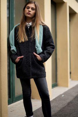 Black Dilangi coat