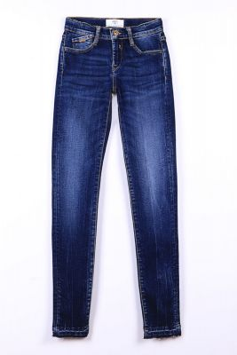 Jeans power basic slim bleu N°1