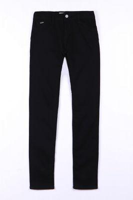 Jeans pulp taille haute slim noir N°0