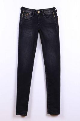 Jeans ultra power slim noir N°1