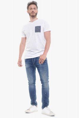 T-shirt Pezar blanc