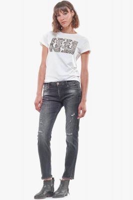 Jeans 200/43 boyfit Andy destroy gris N°1