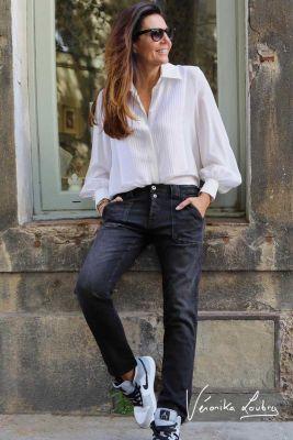 Thylane 200/43 boyfit by Véronika Loubry jeans noir N°1