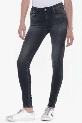 Jeans Pulp slim taille haute noir N°1