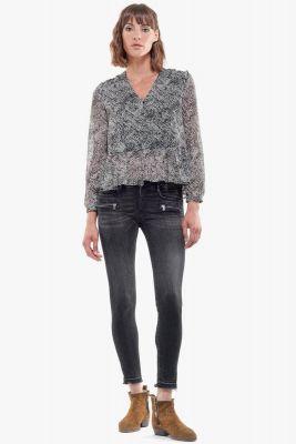 Muray pulp slim 7/8ème jeans noir N°1