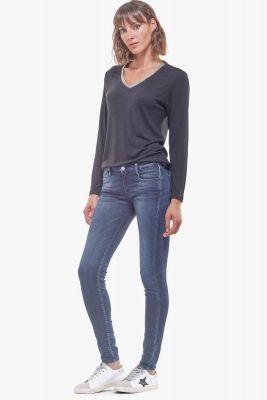 No ultra power skinny jeans bleu N°1