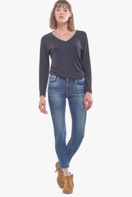 Pulp slim high waist 7/8th jeans blue N°3
