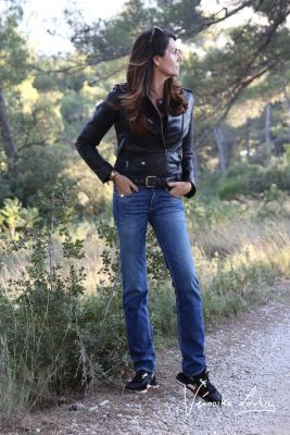 Alison pulp slim by Véronika Loubry jeans blue  N°2
