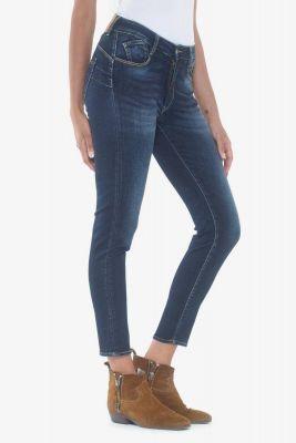 Pulp slim taille haute 7/8ème jeans bleu N°1