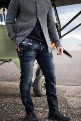 700/11 slim jeans bleu-noir N°2