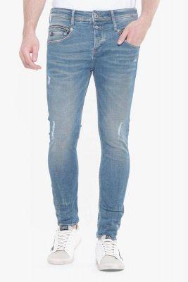 Varel 900/15 Tapered jeans destroy bleu N°3