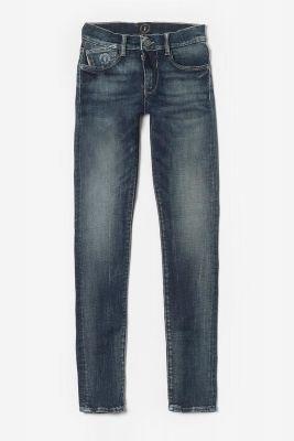 Jeans power skinny bleu-noir N°2