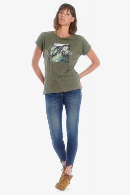 T-shirt Alia kaki