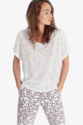 T-shirt Bota blanc
