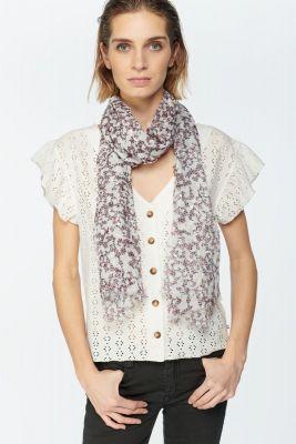 Flower pattern Donde scarf