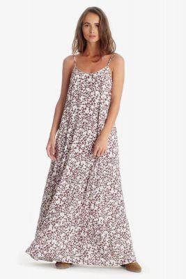 White floral pattern Melina dress
