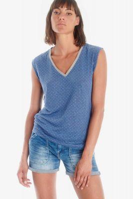 T-shirt Odile bleu