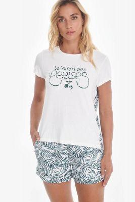 T-shirt Rico blanc