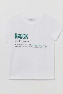 White Annelise t-shirt