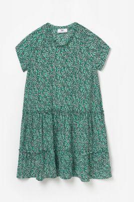 Robe à motif floral Colettagi verte