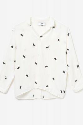 White Lashesgi blouse