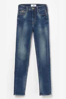 Jeans taille haute ultra power skinny bleu N°2