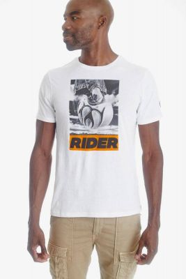 T-shirt Amsta blanc