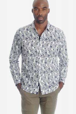 Chemise Pold à motif fleuri