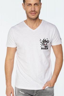 White Tezar t-shirt