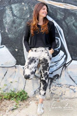 Leon jeans 200/43 boyfit tie and dye by Véronika Loubry