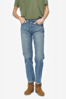 Basic 400/18 mom regular jeans blue N°4