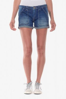 Short en jeans Bloom 4 bleu