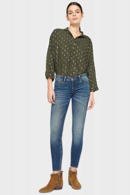 Modi ultra power skinny 7/8ème jeans bleu N°2