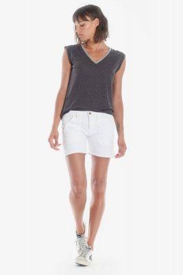 Short en jeans Olsen2 blanc