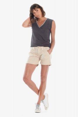 Short en jeans Olsen2 beige