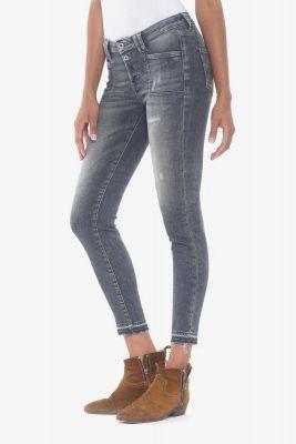 Scot power skinny 7/8 ème jeans destroy gris N°2
