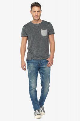 Adur 700/11 slim jeans destroy bleu N°2
